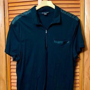 Michael Kors ZIP Polo Shirt.